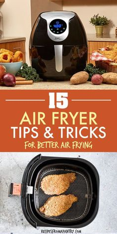 These 15 Best Air Fryer Tips make cooking delicious dishes i. - Air FryerThese 15 Best Air Fryer Tips make cooking delicious dishes in your Air Fryer easier, efficient and more fun! Whether you're new to the world of air frying or a seasoned pro, y Air Fryer Recipes Breakfast, Air Fryer Dinner Recipes, Air Fryer Recipes Easy, Air Fryer Recipes Eggplant, Air Fryer Cooking Times, Cooks Air Fryer, Air Fryer Recipes Chips, Air Frier Recipes, Air Fried Food