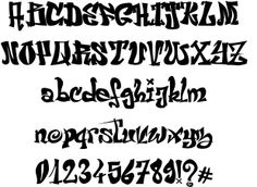 El&Font font by Jerome Delage #fonts #font #ttf #typography #webdesign #design #graffiti