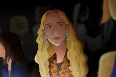 franca sozzani as a disney character