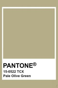 "2019-2020 Spring Summer ""Shape"" Pale Olive Green Paleta Pantone, Pantone Tcx, Pantone Green, Pantone Swatches, Olive Green Paints, Olive Green Color, Green Palette, Colour Pallette, Social Media"