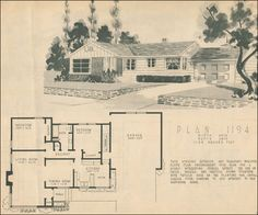 1950 Home Building Plan Service