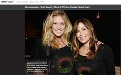 Getty Images - Rachel Hunter + Mary Fanaro