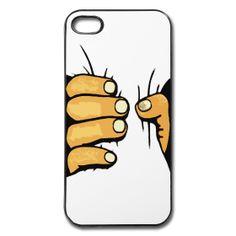 Die Hand zerdrückt mein Handy. Cooles Cover / Case für iPhone 4/5 und Galaxy S2/S3. Iphone 4, Galaxy S2, Cover, Phone Cases, Sketches, Slipcovers, Phone Case