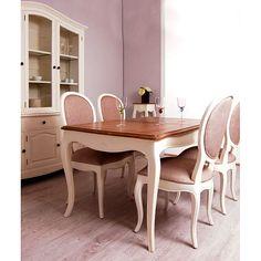 Mesa de Comedor Extensible París Bicolor