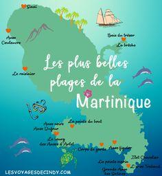 - Vacation Ideas - Les plus belles plages de la Martinique The map of the beaches of Martinique. Greece Destinations, Travel Destinations, Packing List Beach, Packing List For Travel, Packing Lists, Budget Travel, Vacation Packing, Les Bahamas, Greece With Kids