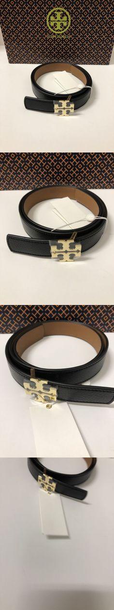 5b4929979eb Belts 3003  Tory Burch Reversible Logo Belt 1 Black Tiger S Eye Belt Size S