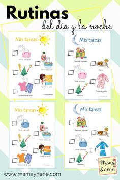 Rutina niños Casual Outfit casual outfits for guys Spanish Lessons, Teaching Spanish, Learn Spanish, Spanish Grammar, Kids Education, Preschool Activities, Spanish Activities, Kids And Parenting, Kids Learning