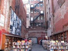 Brattle Book Shop, Boston  Established in 1825, the Brattle Book Shop is one of North America`s oldest and largest used bookstores. The store comprises three indoor floors of books as well as this `bargain bin` outdoor lot where customers flock to snap up bargains.    Read more: http://www.vancouversun.com/health/empowered-health/Photos+coolest+bookstores+world/6302498/story.html#ixzz1pg8kAP00