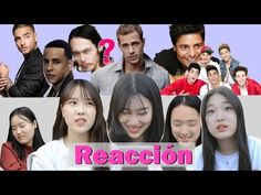 Coreanas reaccionan a los Famosos Latinos - YouTube