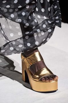 Dries Van Noten Spring Summer 2020 SS2020 trends runway coverage Ready To Wear Vogue shoes
