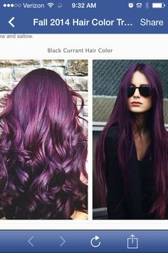 Black currant for hair