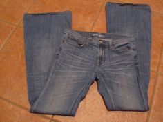 *Women London Jeans*Size 4*Skinny Flare*Fade Whiskers*Nice*