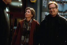 Karen (Emma Thompson) and Harry (Alan Rickman) ~ Love Actually (2003) ~ Movie Stills ~ #romcoms #britishmovies #chickflicks #loveactually #comedies #romanticcomedies