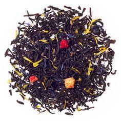 This fruity take on an Earl Grey adds strawberries, cornflowers and bergamot oil. Davids Tea, Tea Plant, Types Of Tea, Tea Blends, Tea Cakes, Loose Leaf Tea, How To Dry Basil, Tea Pots, Organic
