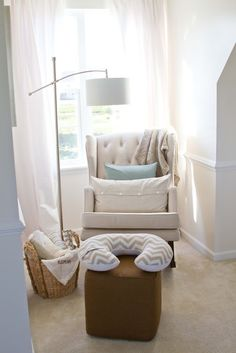 Beautiful baby boy nursery