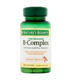 Nature's Bounty B-Complex Vitamins Vitamin B Complex, Vitamin C, Vitamins For Anxiety, Fire Basket, Good Night Gif, Stress Busters, Folic Acid, Food Ideas, Health