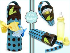 Insulated Baby Bottle Carrier – Free Tutorial from S4H