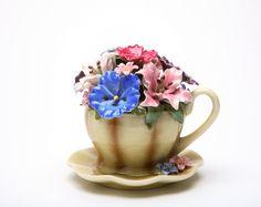 tea cup music box