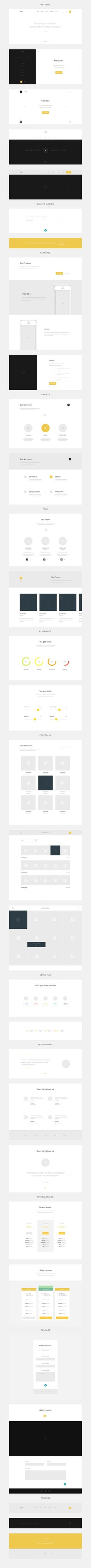 This freebie was created with the intention of helping designers quickly prototype an idea before actually digging...