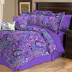 jcp | Bethenny Paisley Reversible Comforter Set