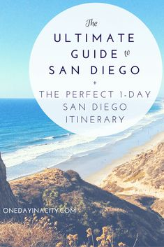 The ultimate guide to San Diego with a top 10 list for things to do in San Diego, plus a detailed itinerary for how to spend one day in San Diego -- complete with modifications depending on your interests! This travel guide is nearly 7,000 words long and is full of tips from transportation to sightseeing to dining and more.