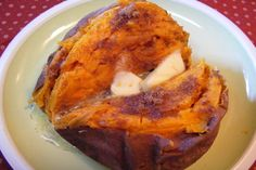 Baked sweet potatoes :p