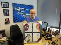 Stan Lee Loves Superhero Art Discovered on My Modern Met - My Modern Metropolis