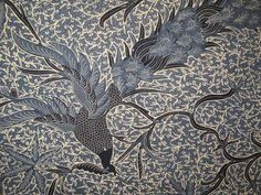 Vintage Merak Batik Sarong  Indonesia by ArtisticArtifacts47