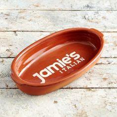 Jamie's Italian Small Oval Roaster - Ovenware