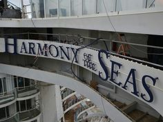 Photo of Harmony of the Seas  water slides from USA Today. http://experience.usatoday.com/cruise/story/cruise-lines/2016/02/15/exclusive-first-look-harmony-seas-largest-cruise-ship-ever/80236058/
