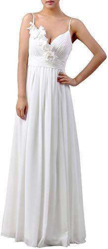 9d68b3eaa524 Beautiful Natrual Chiffon Floor Length Special Occasion A-line Long  Bridesmaid Dress Women dresses.