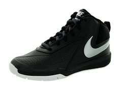 I bought these Nike basketball shoes for my 12 year old grandson to wear for his basketball team last basketball year. Obviously he was thrilled because they are super cool, . These fit him perfectly and I never heard any complaints from about them. Th...