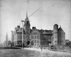 Old Central High School, St. Paul. 1886 Feeling Minnesota, Minnesota Historical Society, Twin Cities, Historical Photos, Minneapolis, High School, Photographs, Louvre, Collections