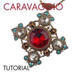 Caravaggio pendant tutorial - The Storytelling Jeweller