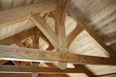 timber frame home living rooms - Google Search