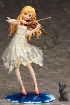 Honey New Shigatsu Wa Kimi No Uso Miyazono Kaori Violin Figurine Figure Toy Comic Amine Gsc Your Lie In April 20cm Attractive Designs; Toys & Hobbies