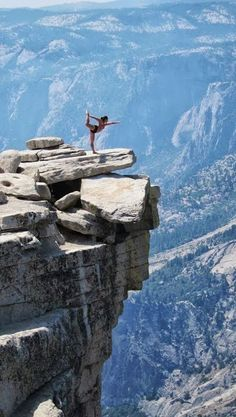 #yoga in #nature - #dancer in the mountains