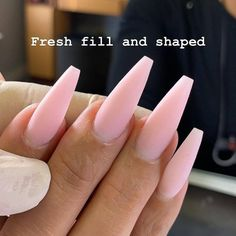 Some of my very most FAQs have to do with my nails! At any time I get my nails done I get tons and also lots of DMs regarding it. What did you do for you nails? Gorgeous Nails, Pretty Nails, Design Ongles Courts, Aycrlic Nails, Coffin Nails, Matte Pink Nails, Nails Rose, Fire Nails, Best Acrylic Nails