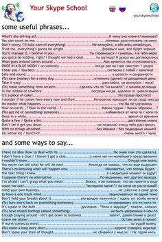 #useful #phrases in english #russian