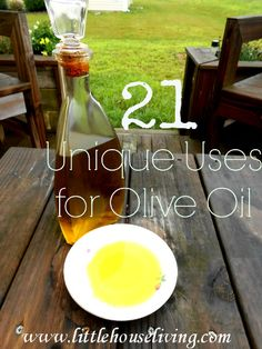 21 Unique Uses for Olive Oil