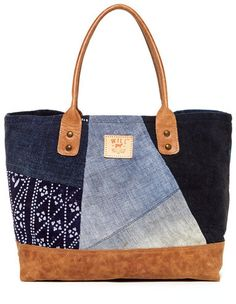 Will Leather Goods Batik Patchwork Tote on shopstyle.com