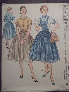 Vintage pattern for a pinafore like Dorothy's