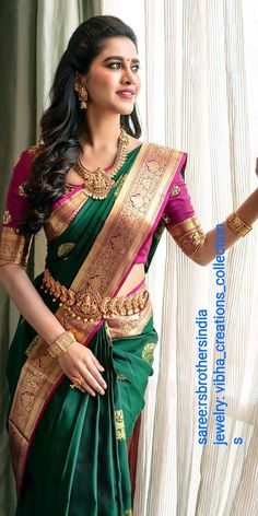 Designers Wedding Sarees Source by fashion indian dresses Lehenga Designs, Saree Jacket Designs, Wedding Saree Blouse Designs, Half Saree Designs, Silk Saree Blouse Designs, Kurta Designs, South Indian Blouse Designs, Blouse Patterns, Blouse Batik