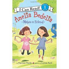 Cuando la vecina de Amelia Bedelia y mejor amiga Jen se aleja, Amelia Bedelia está triste.  Un día, un nuevo vecino se mueve, pero no es nada en absoluto como Jen. ¿O es ella? Amelia Bedelia descubre que los amigos vienen en todas formas y tamaños, en este libro fácil de leer acerca de la amistad que es la correcta para los lectores principiantes.