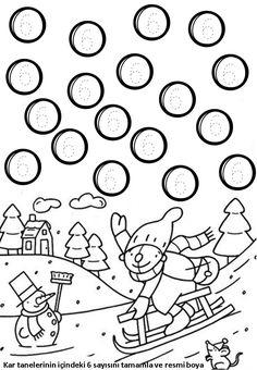 6 Rakami Etkinlikasigi Working Pages Pinterest Math Math For