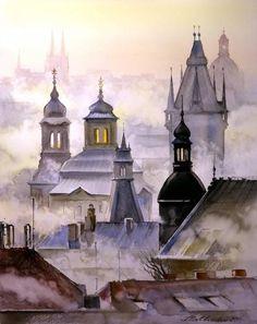 Картины (живопись) : Злата Прага