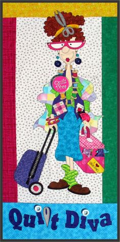 Are YOU a Quilt Diva?? YES YOU ARE! Bring out your inner diva with this fantasic PRE-CUT and PRE-FUSED applique quilt kit! Wholesale customers please visit www.lonestarlaserco.com