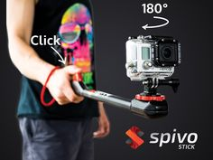 Spivo | The Ultimate Selfie Stick for GoPro, iPhone and more project video thumbnail