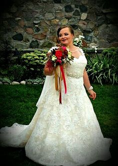 Teen mom maci bookout taylor mckinney s wedding footage for Chelsea houska second wedding dress