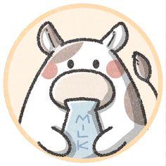 牛さんのフリーアイコン|可愛いフリーアイコン・イラストの無料素材サイト|フリーペンシル